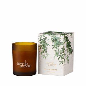 Fir, Pine & Spruce Christmas Candle