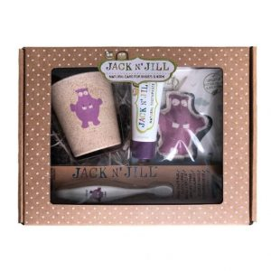 Jack and Jill Toothcare Giftpack – Blackcurrant Hippo