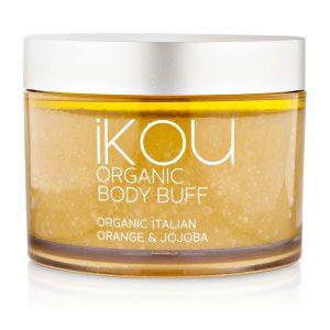 iKOU – Organic Body Buff – Italian Orange + Jojoba