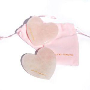 LOVE Gua Sha Rose Quartz Beauty Tool